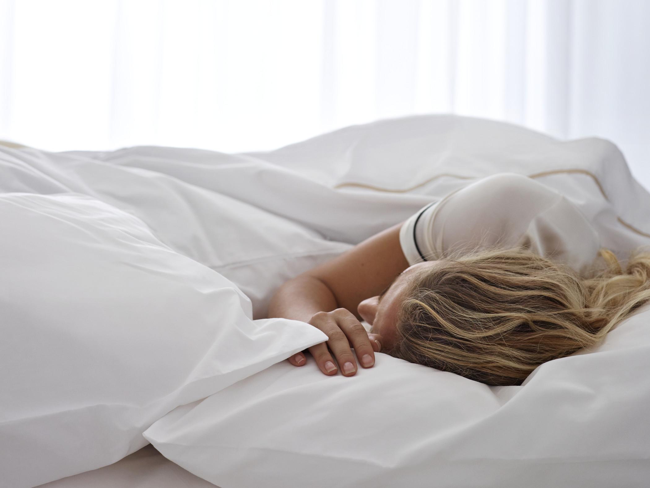 Female Sleeping - Heavenly Bed