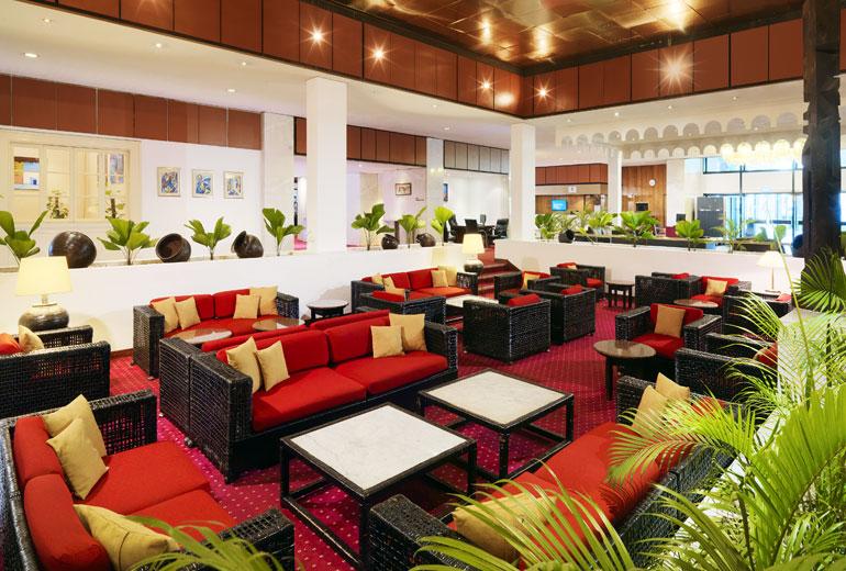 Lobby Lounge, Sheraton Lagos Hotel Source:www.starwoodhotels.com